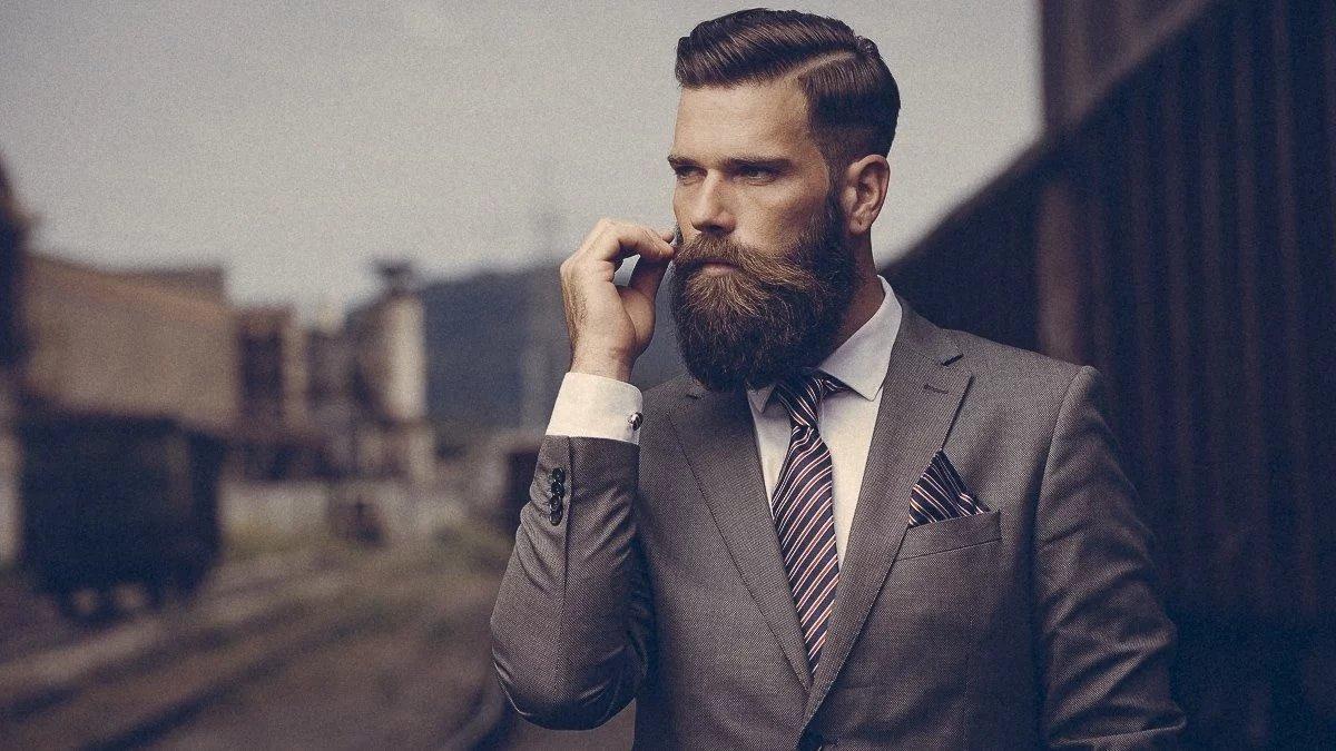 Крутая картинка с бородой