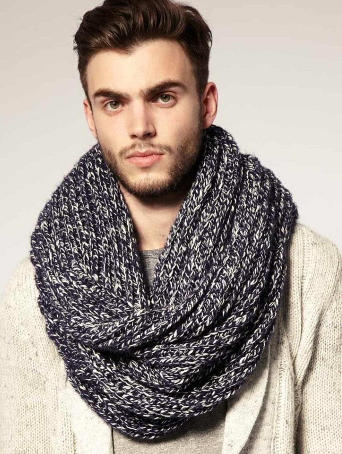 Модный шарф картинки
