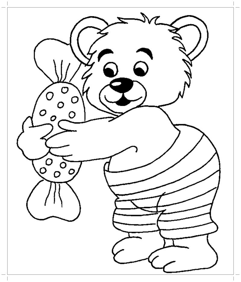 Картинки для раскрашивания дошкольников