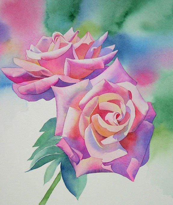 простые рисунки в цвете несколько