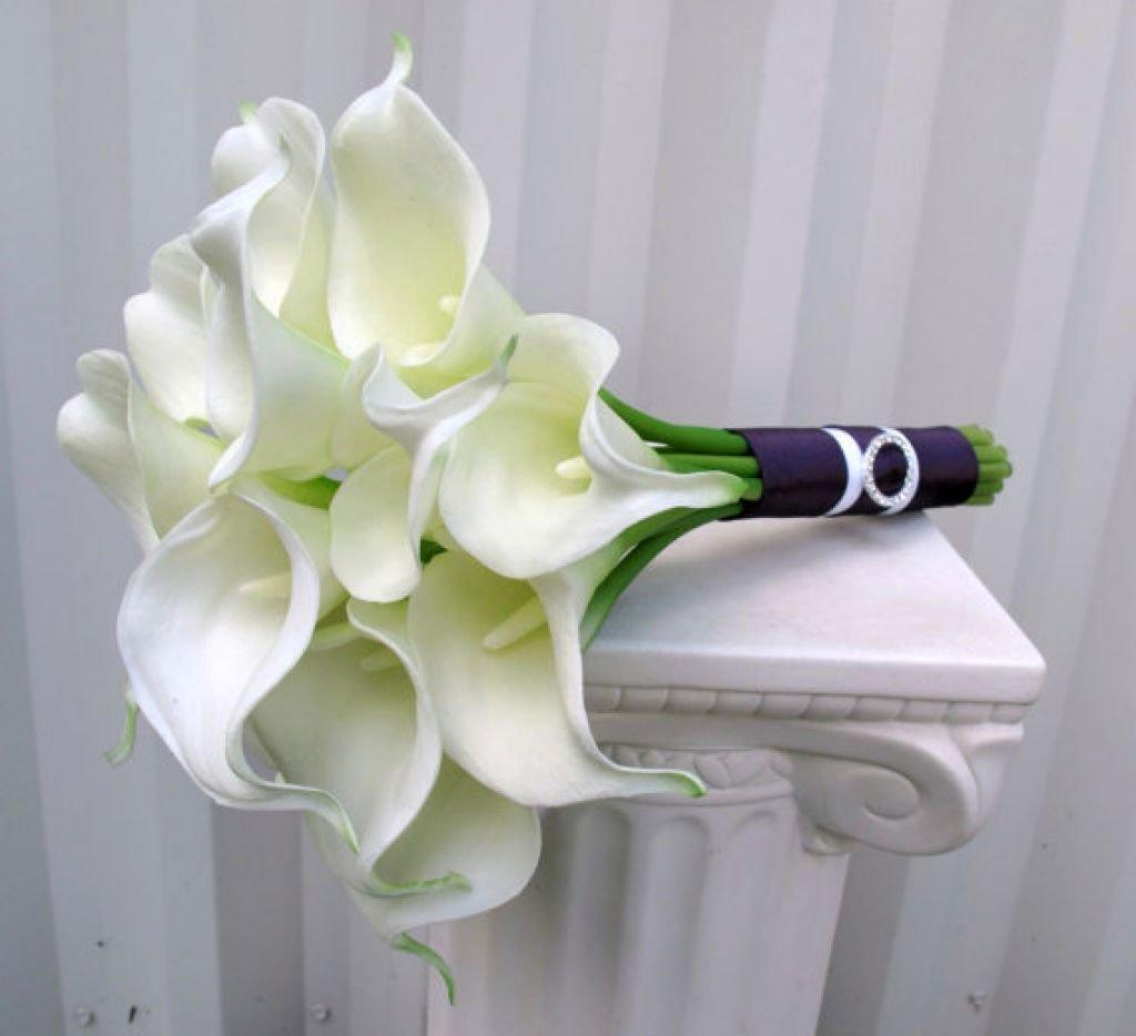 Свадебные букеты с каллы