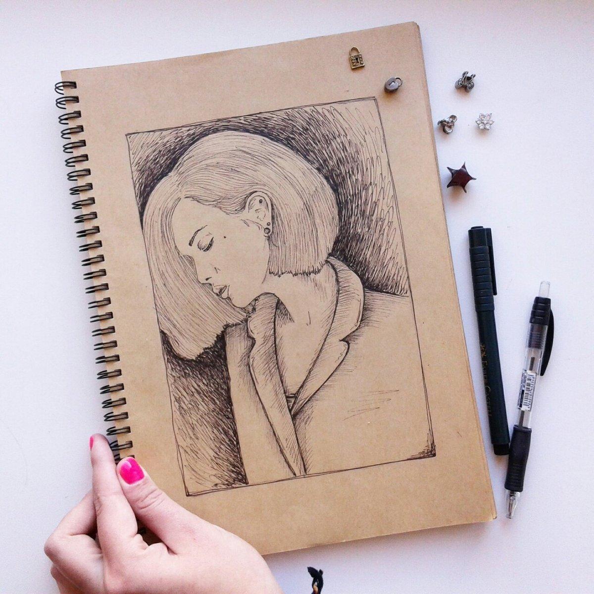 картинки для рисования в блокнот как поставку