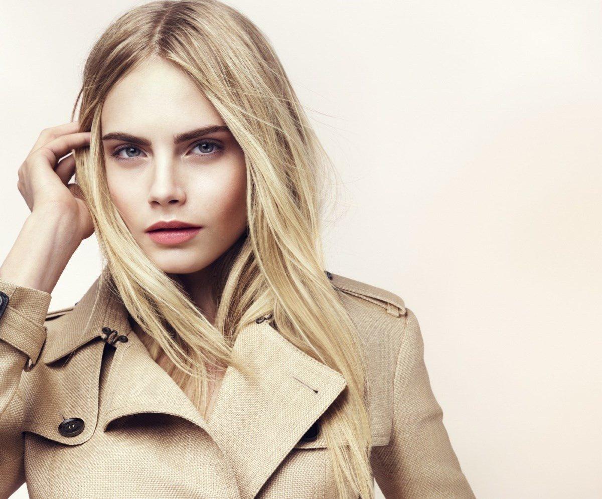 английская модель блондинка увидеть новые