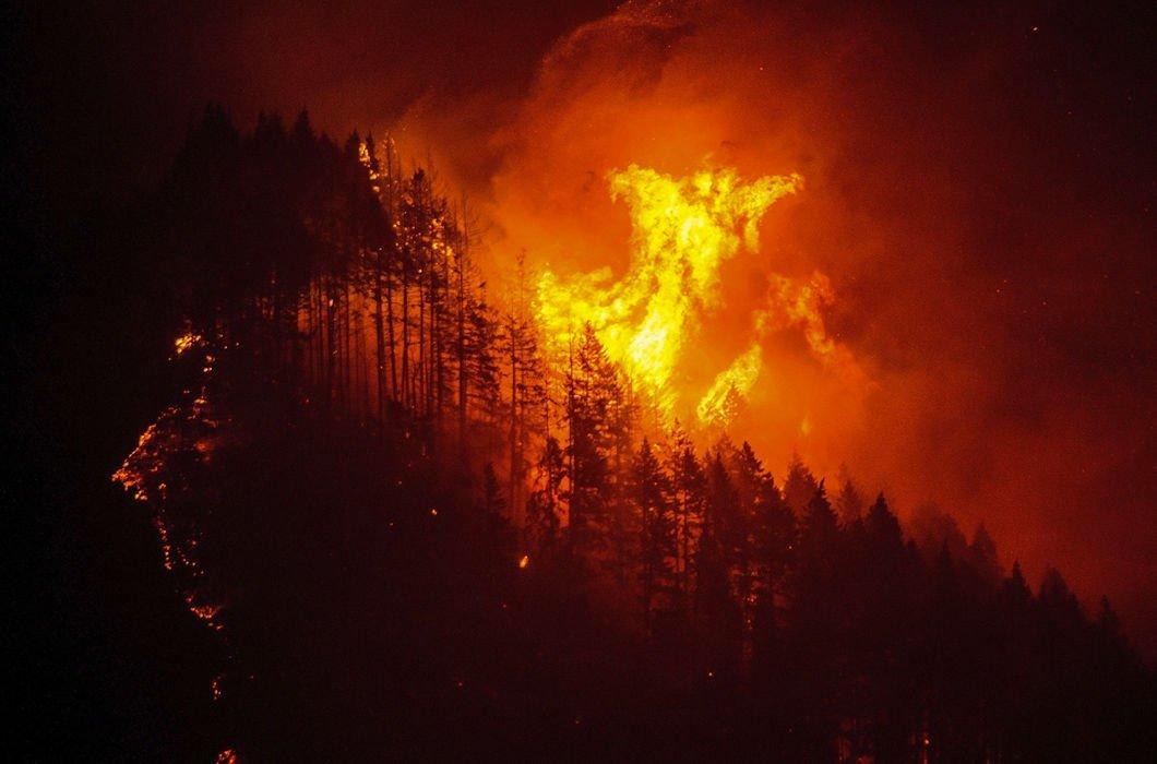 Красивый пожар картинки