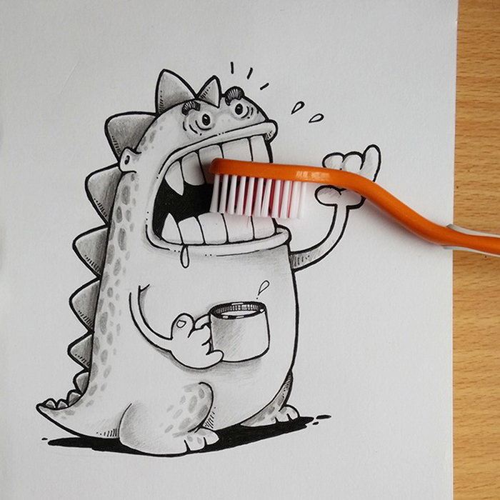 Как называются смешные рисунки карандашом
