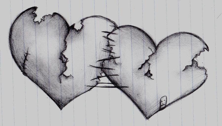Только, сердечко картинки красивые карандашом