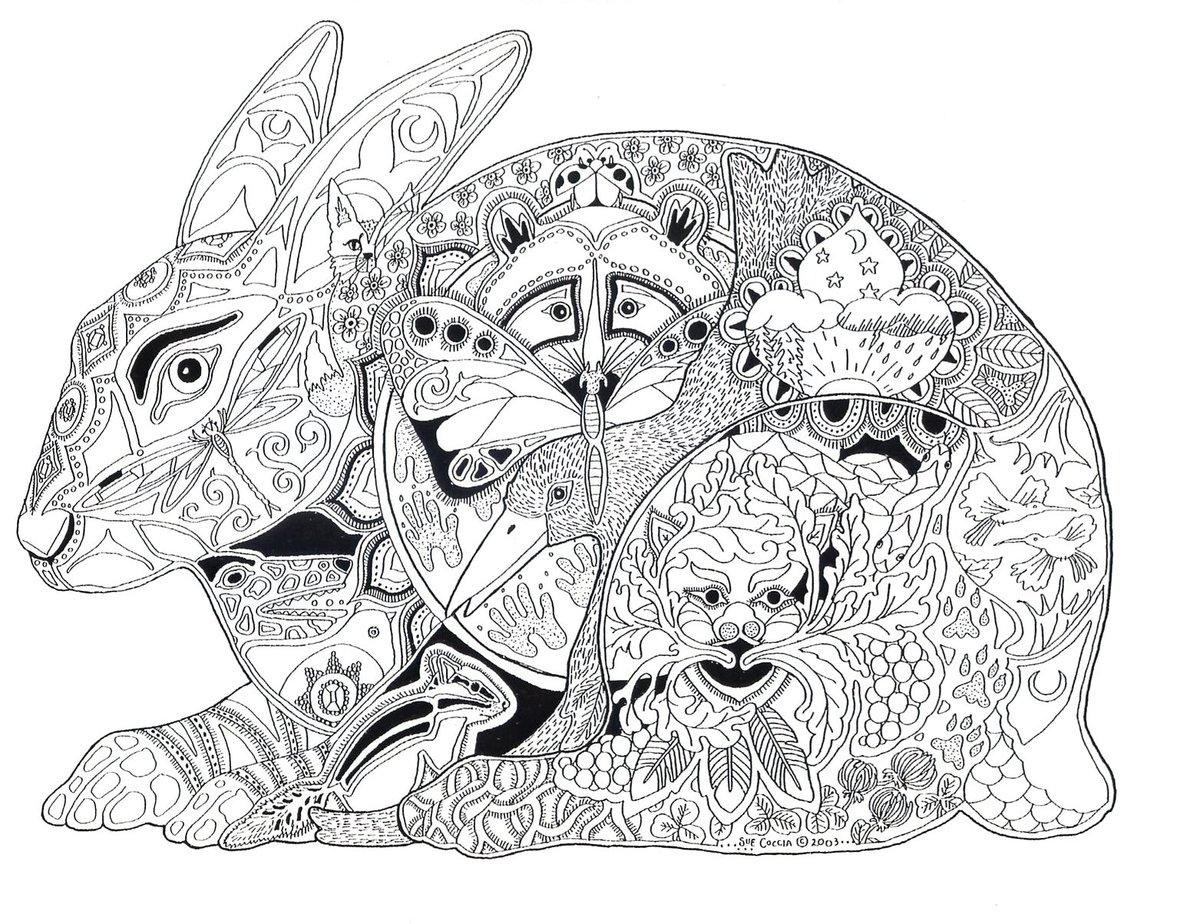 своим арт-раскраска мир животных таких малых
