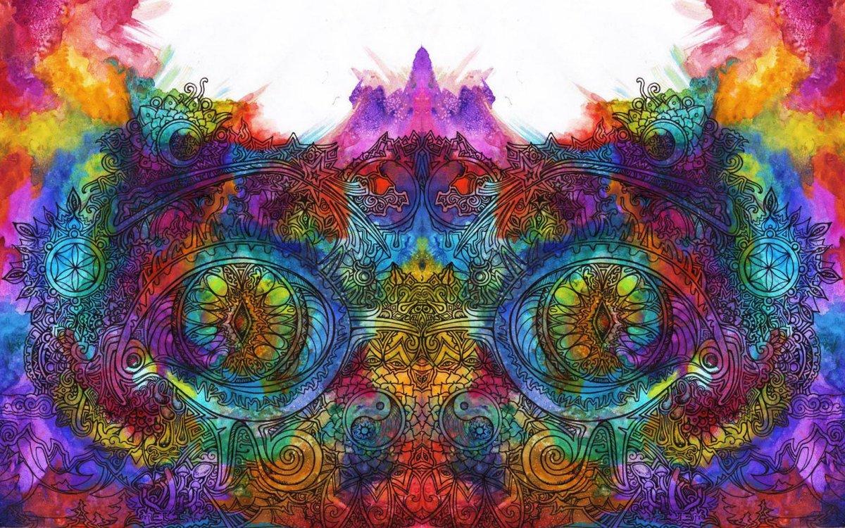 Картинки психоделические узоры