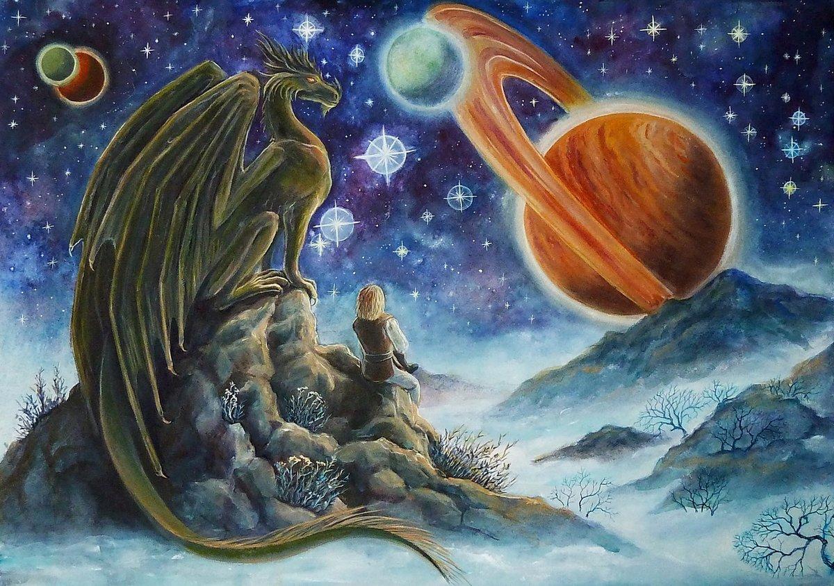 Картинки фантастические планеты для детей