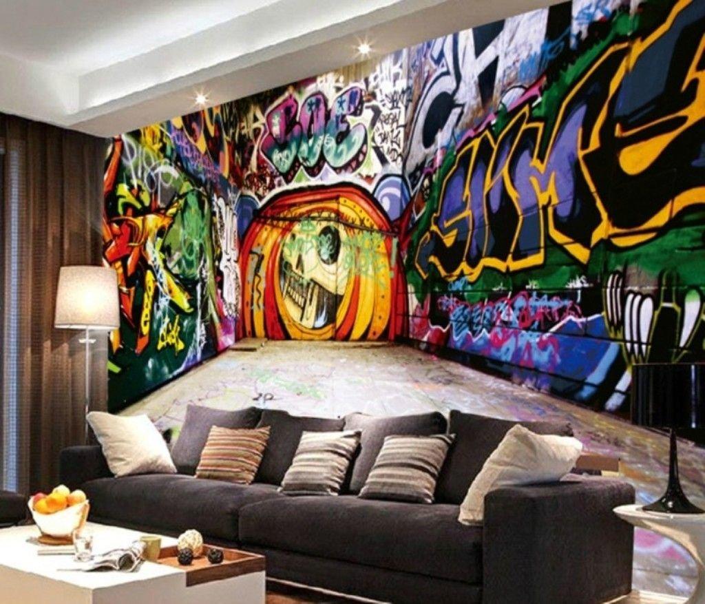 этом картинки комнаты с граффити новикова