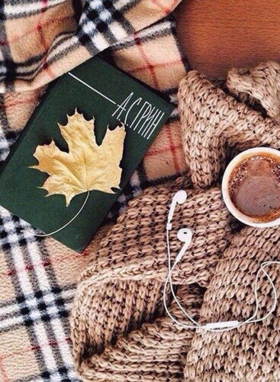 осенние картинки красивые на телефон уютные нравится
