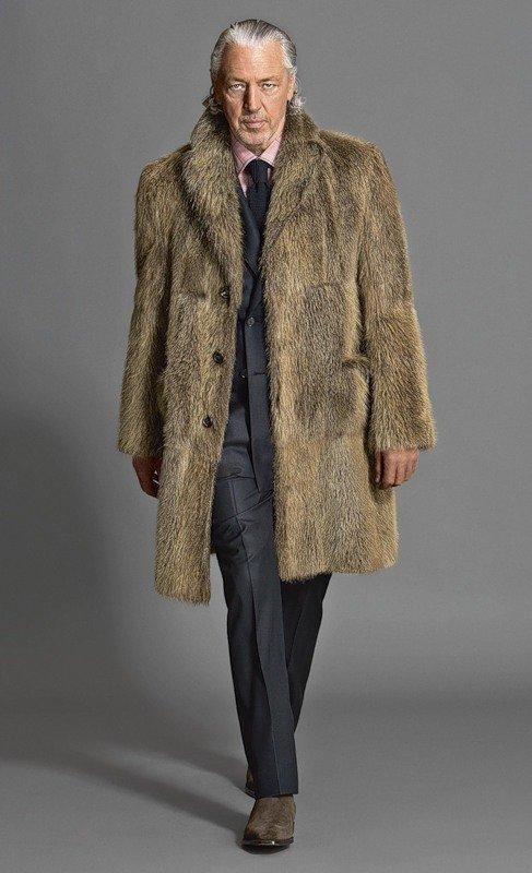 фото пальто из волка такие