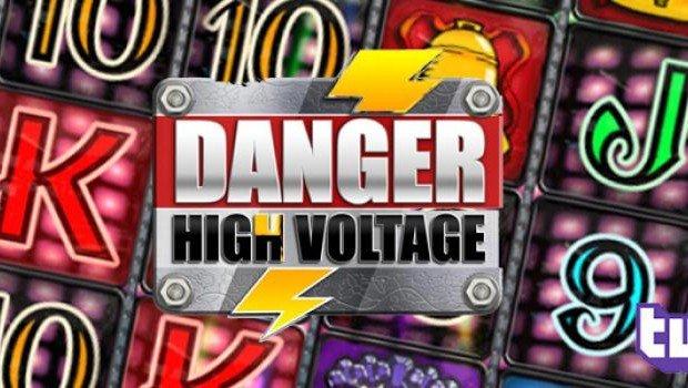 High voltage power spike slot machine