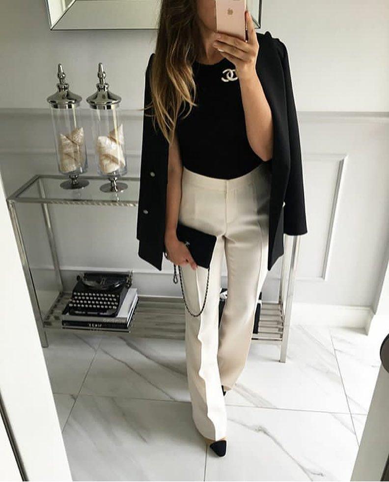 белое с черным никогда не выйдет из моды
