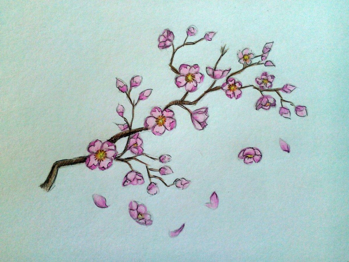 Цветущие легкие картинки