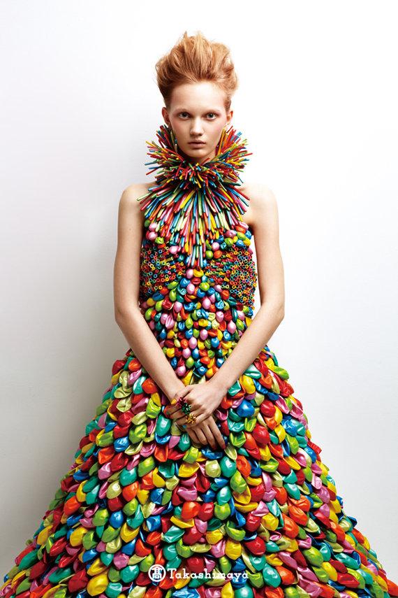 С чего можно придумать платье в картинках