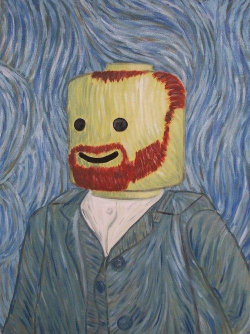 Винсент ван гог смешные картинки