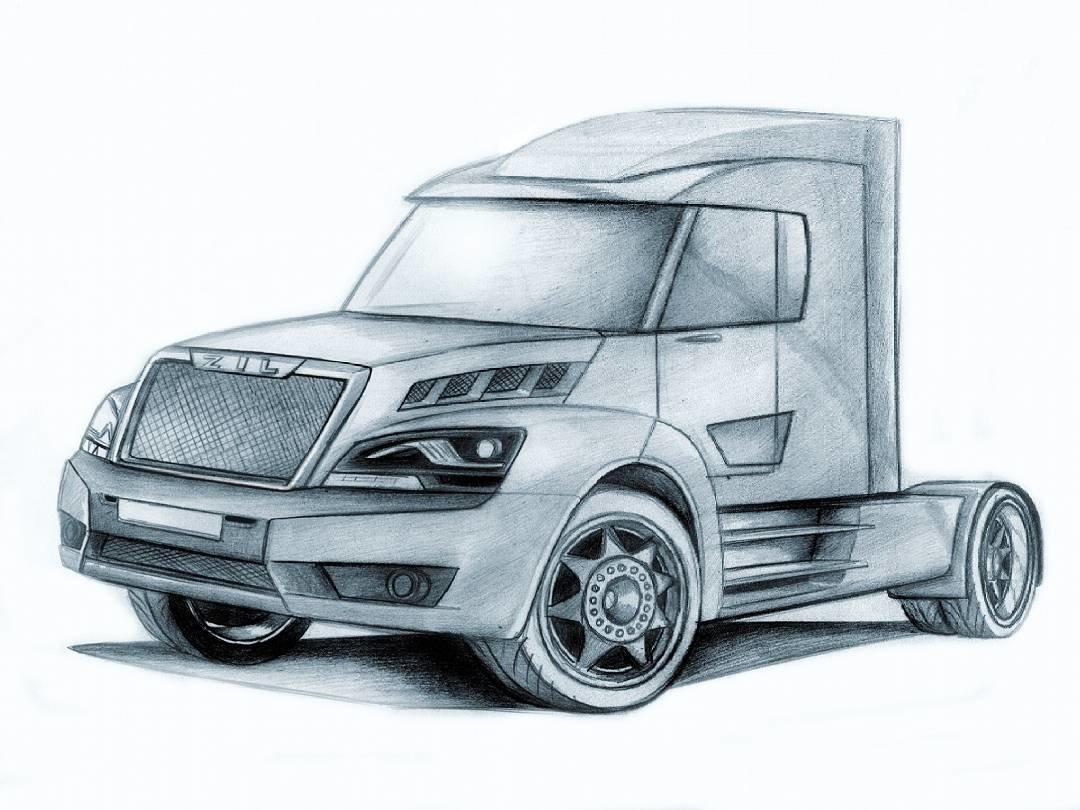 такие фото грузовик рисунку все поближе своими