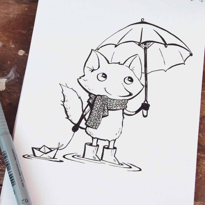 Срисовать легкие рисунки и красивые и прикольные маркером, роше перестали