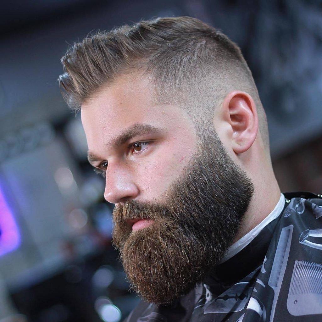 Full beard shaved — photo 8