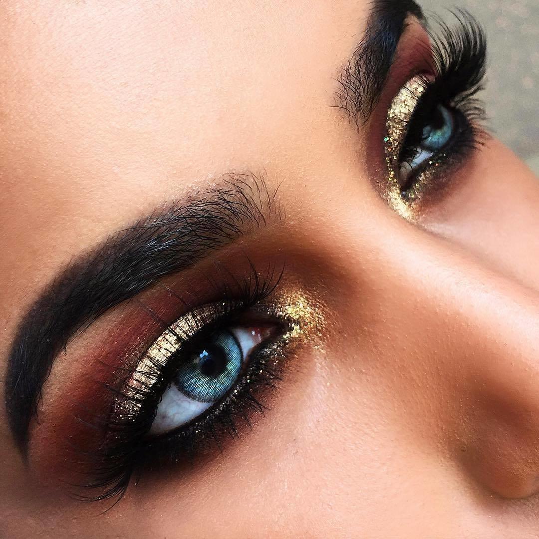 портрета картинки красивых глаз с макияжем для кухни