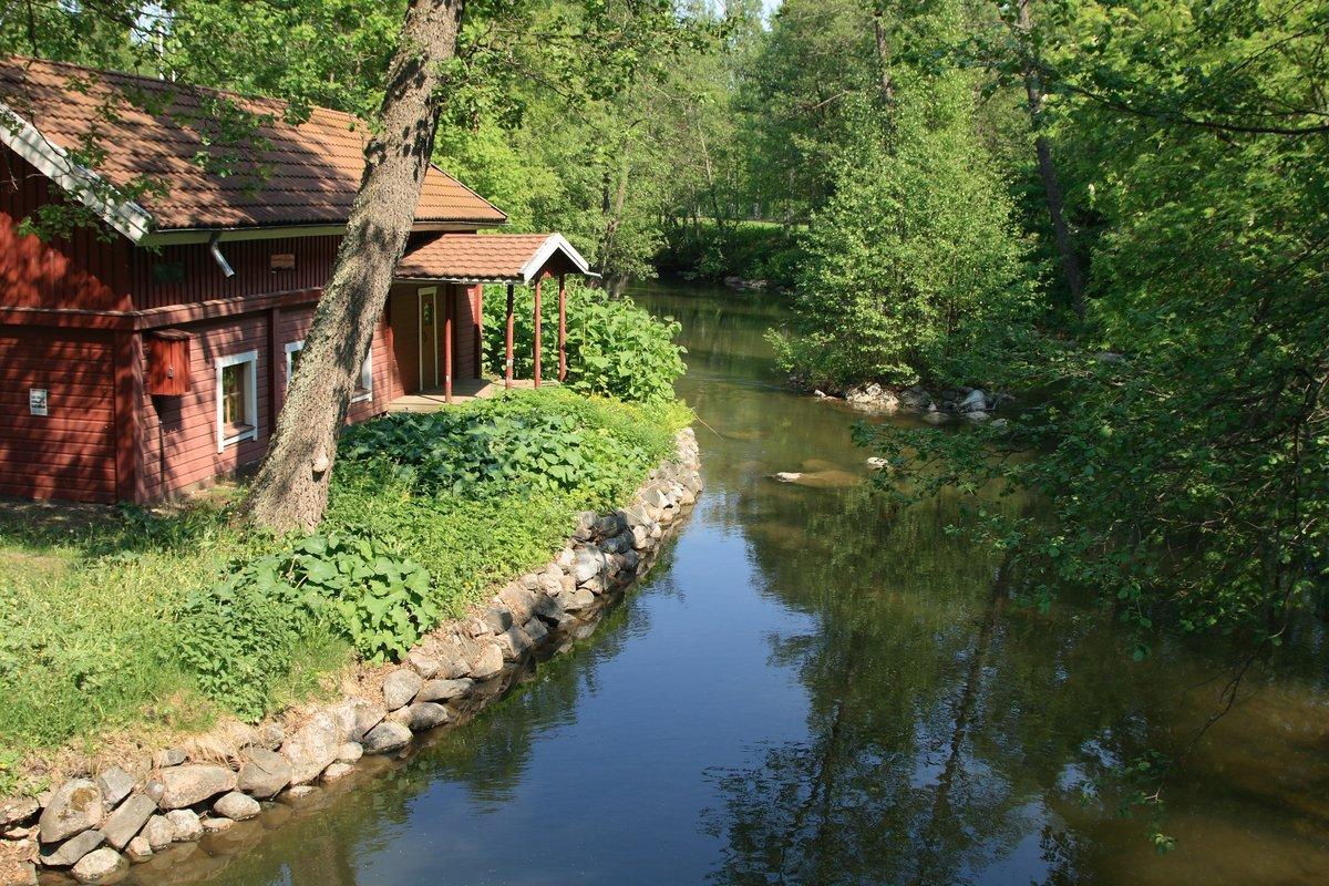 фото деревня на берегу озера ногти продукт высоких