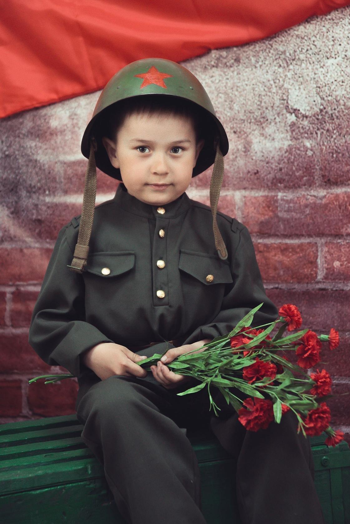 фото с днем победы с детьми