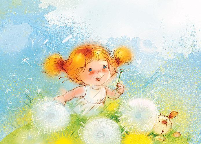 Лето картинки, открытки с радостью в этот день