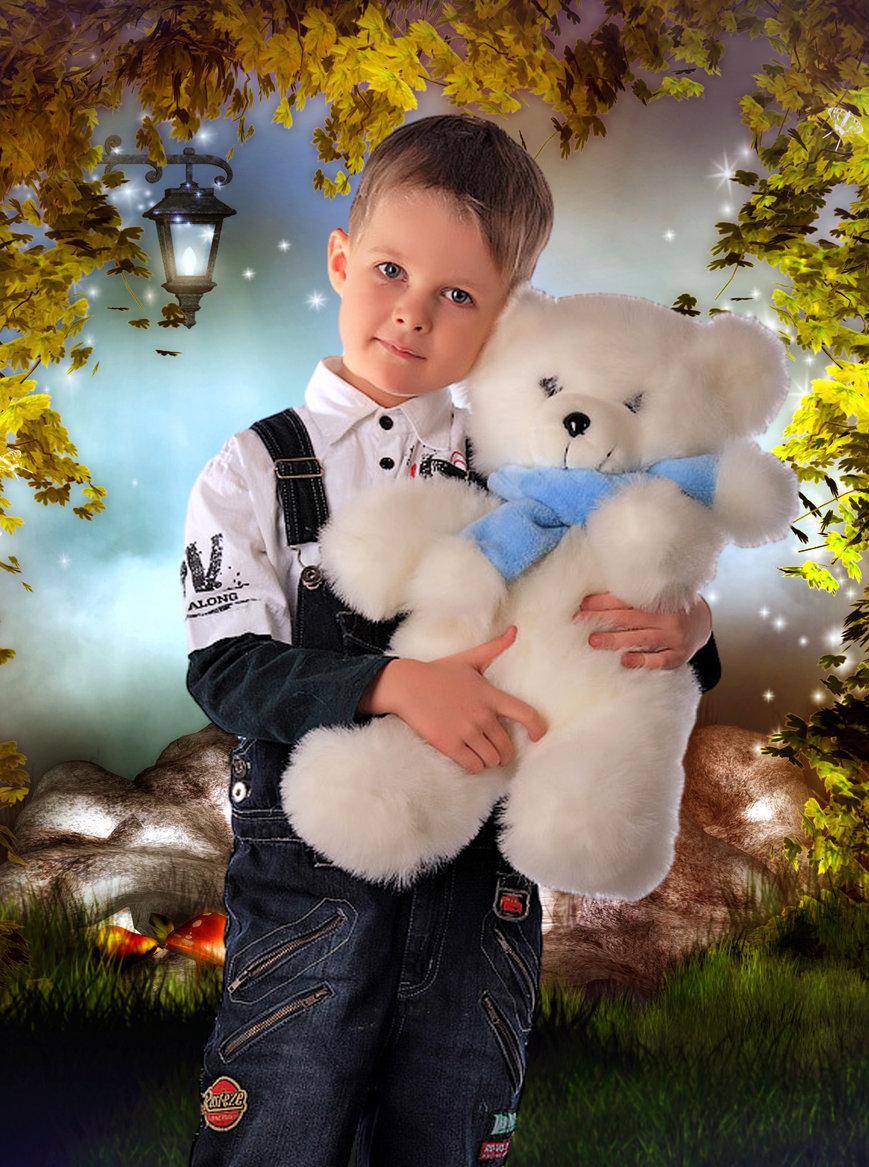 Добрым, картинки для мальчика для фотошопа