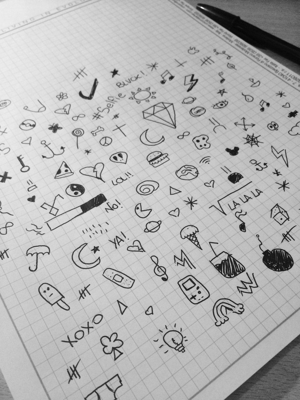 Картинки на тетрадь нарисовать самому
