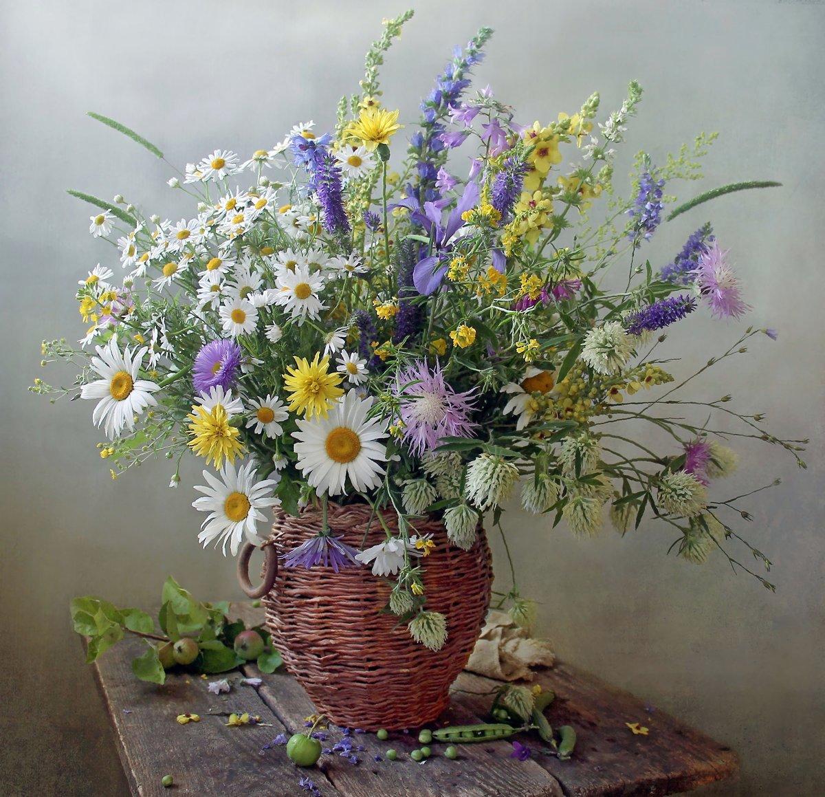Онлайн открытку, открытки с полевыми цветами без надписей