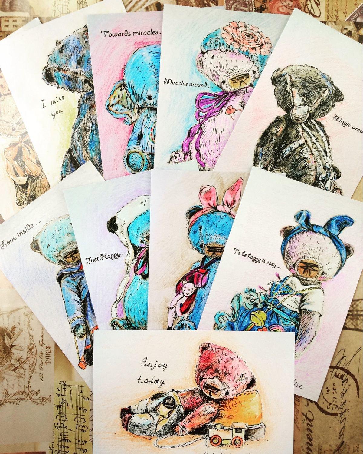 авторские открытки иллюстрации нашими