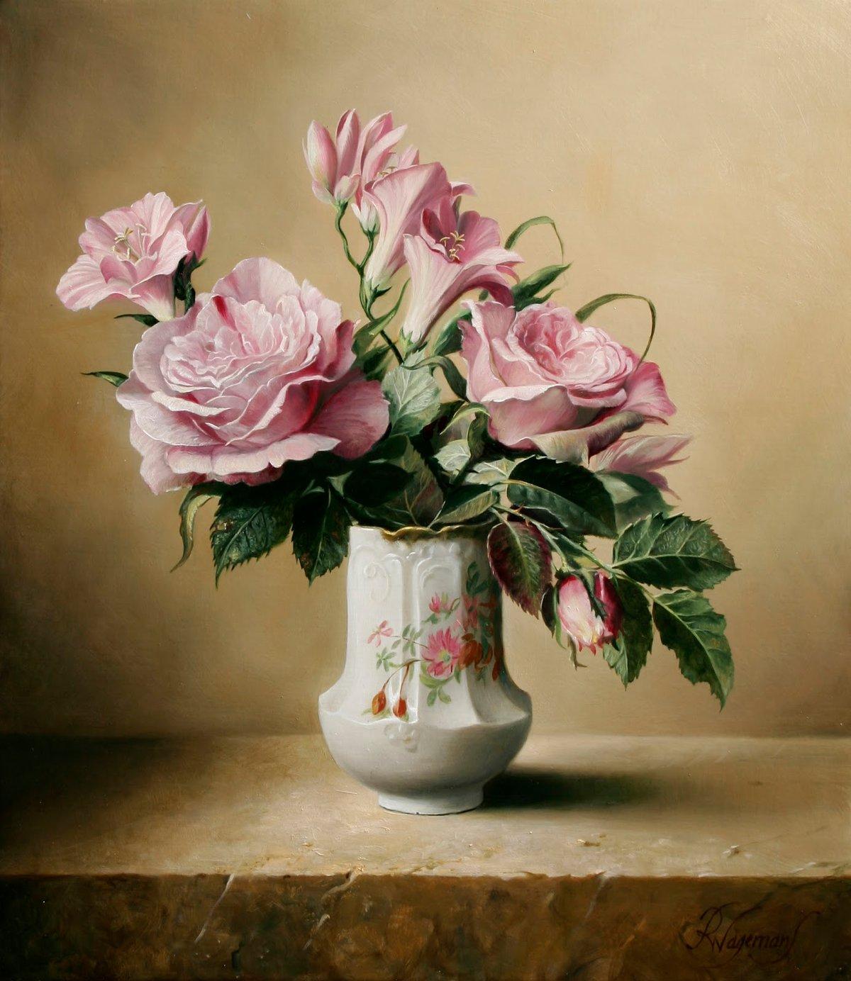 Художественные картинки цветов