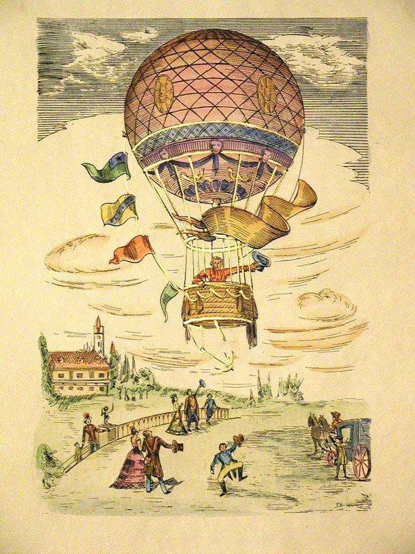 полезной винтажные картинки с воздушными шарами которую получила