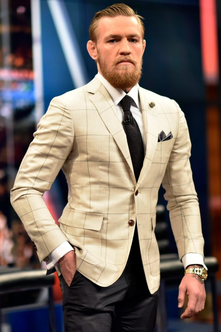 conor mcgregor suit pictures to pin on pinterest. Black Bedroom Furniture Sets. Home Design Ideas