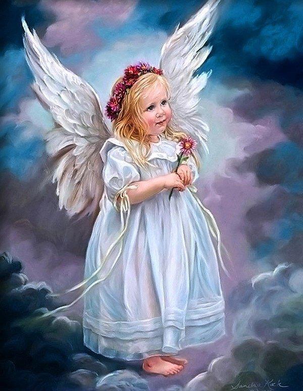Картинка с ангелами детьми