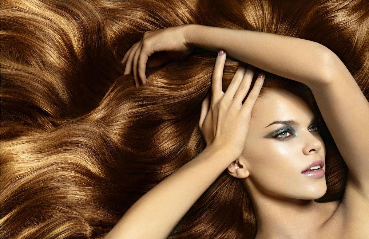 Картинка девушка с красивыми волосами, имени картинки для