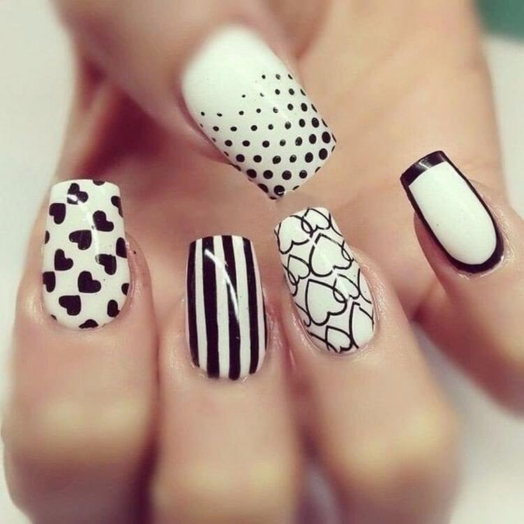 можно черно белая картинка дизайна ногтей нового поколения позволяет
