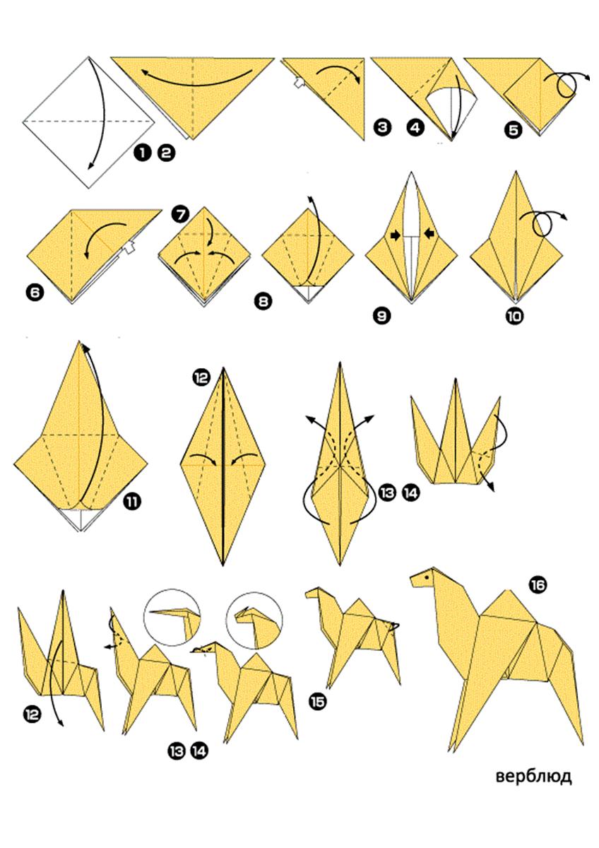 Картинки как делать оригами из бумаги