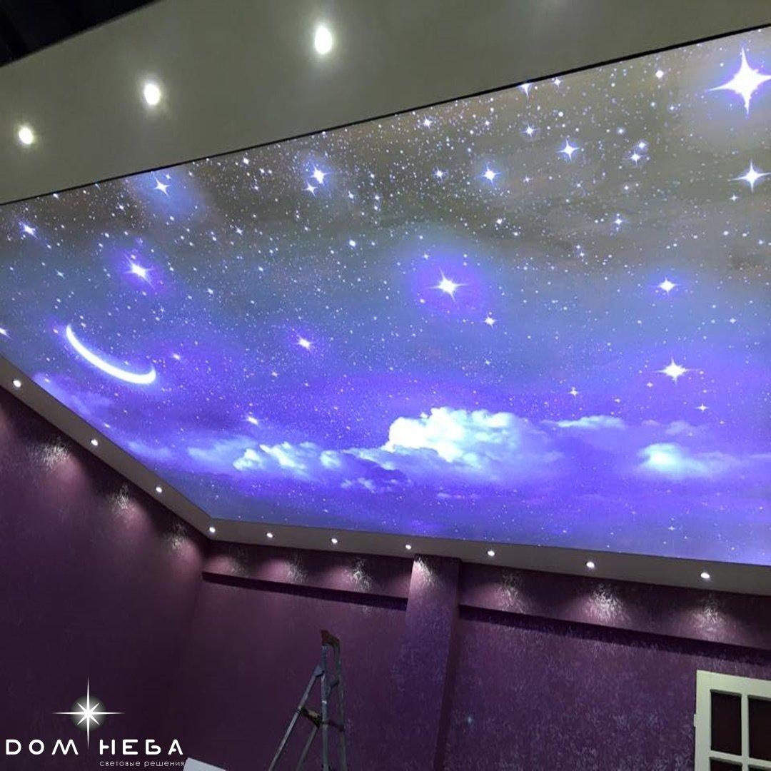 натяжной потолок звездное небо фотографии популярные аудио-открыток дню