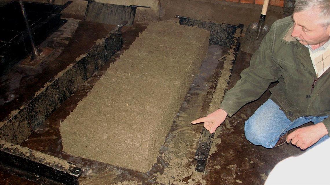 изготовление опилкобетонных блоков в домашних условиях