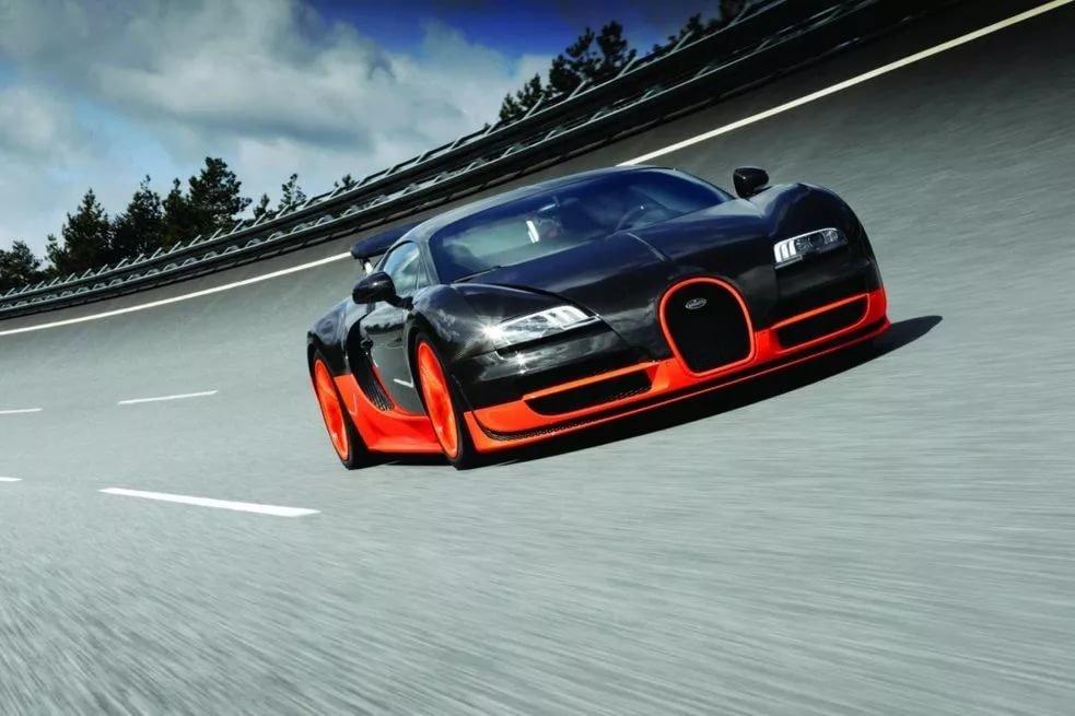 Самая быстрая машина в мире в картинке