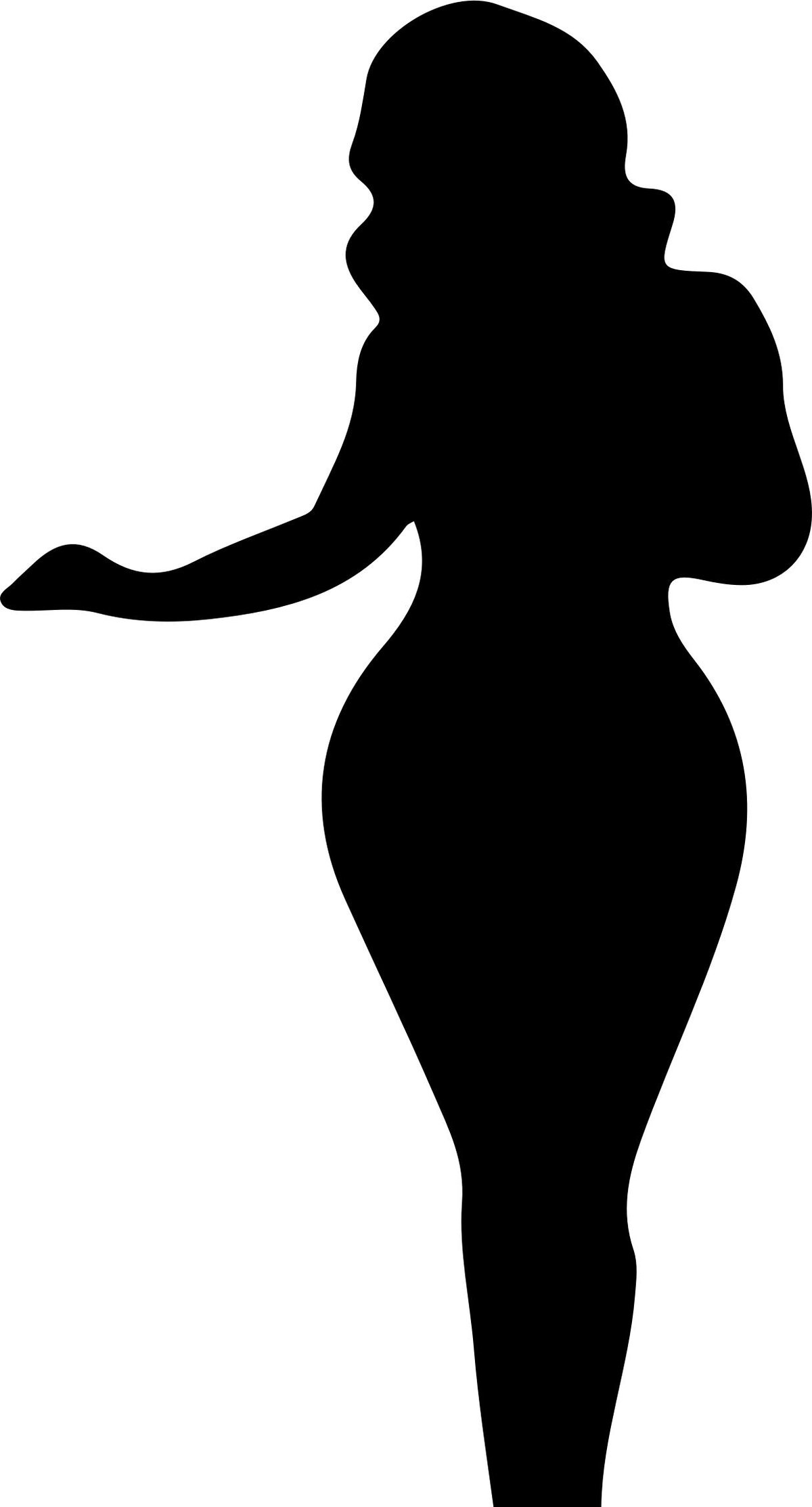 Картинки женские силуэты, днем рождения павел