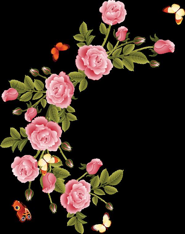 Картинка цветы уголок