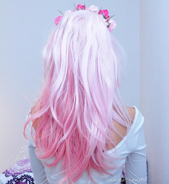Картинки розового цвета волос