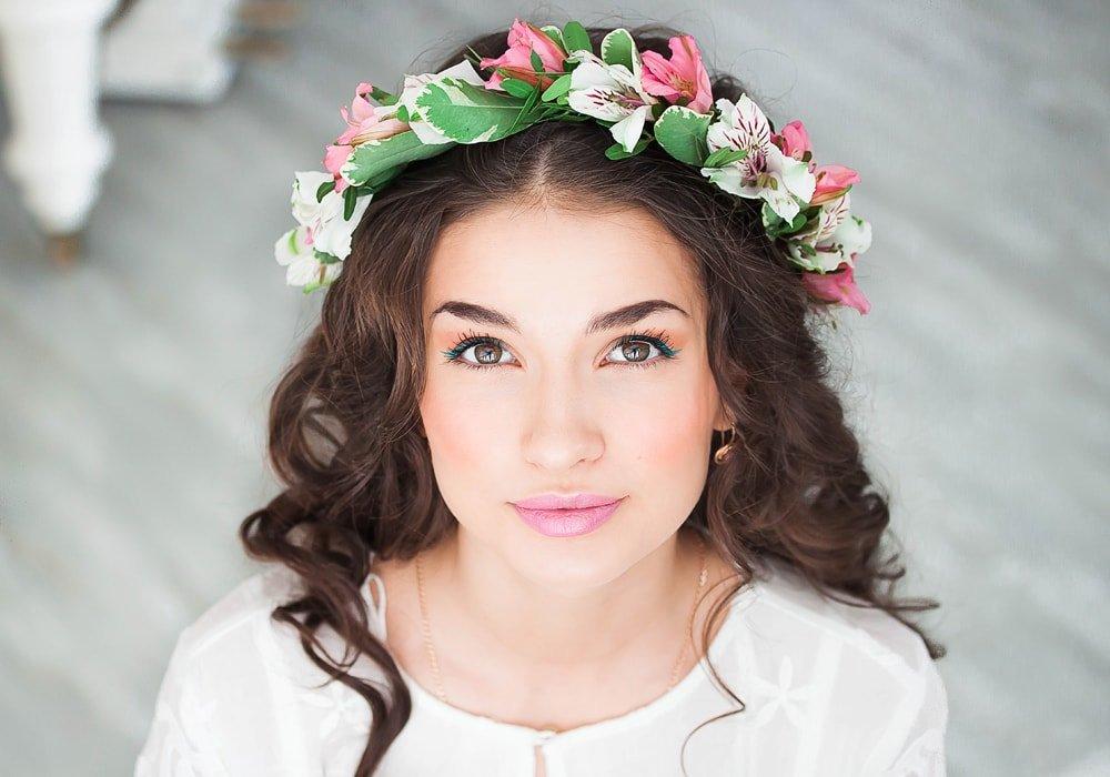 Ободки с цветами фото на голову