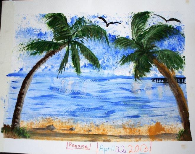 Черное море картинки нарисованные
