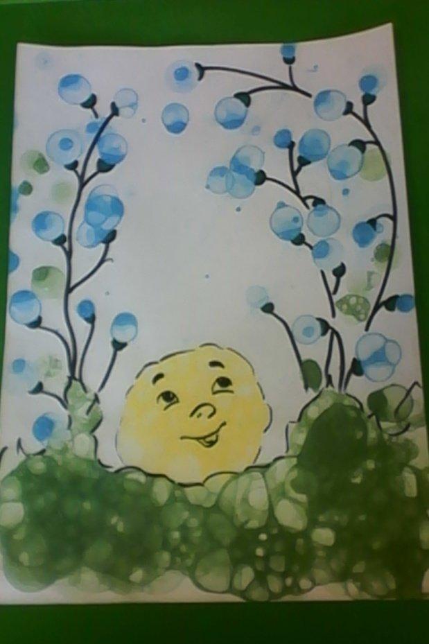 пузыри на открытке как сделать кому-то ваших гостей