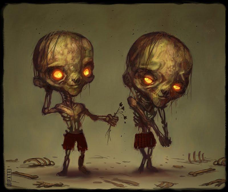 картинки милых зомби можете