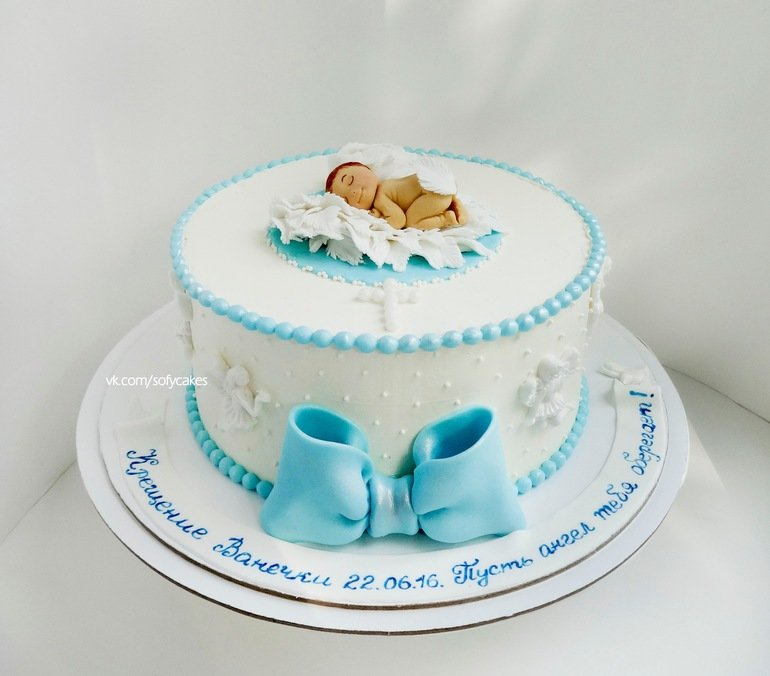 Торт новорожденному мальчику картинки